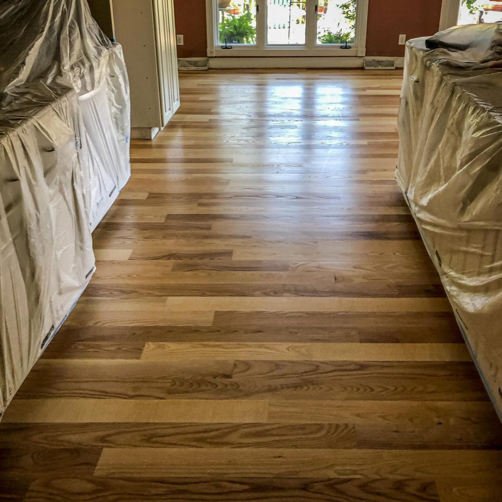Hardwood Floor refurbish and renovation